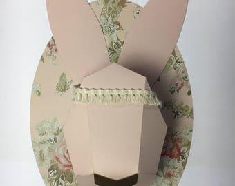 Trophy head diy paper animals