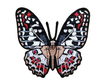 Spotted Butterfly Embroidery Patch Embroidered Sew On Iron On Patches
