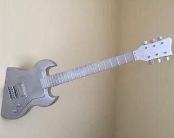 Metal Guitar | Custom Guitars in 2019 | Guitar, Guitar art ...