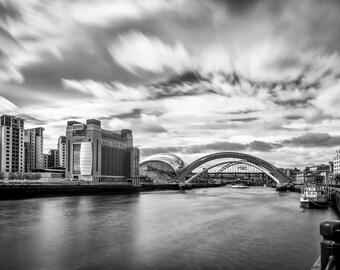 Newcastle/Gateshead The Riverside Photographic print