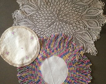 Vintage doily collection (variety)