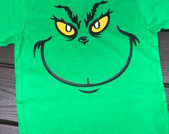 Grinch Grichmas Green Shirt