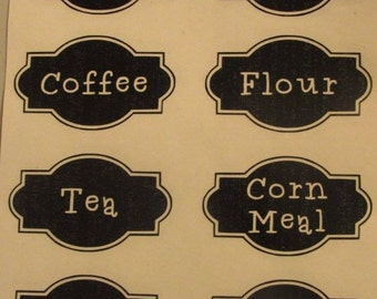 Kitchen Labels