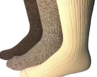 Rabbit Wool Sock - 80% Wool : 15 Angora Rabbit ; 5 Nylon