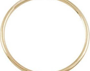 Thin Yellow Gold Ring - 14k REAL gold