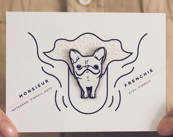 French Bulldog Enamel Pin