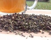 Spring Peppermint Loose Leaf Tea, Almond, Tulsi and Vanilla Bean