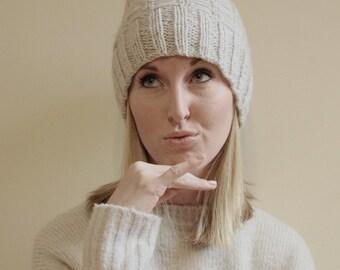 KNITTING PATTERN - Mason Knit Hat Pattern (Child, Young Adult, Adult Sizes)