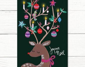 Christmas card // Reindeer