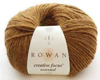 Rowan Creative Focus Worsted aran yarn made with wool and alpaca ref 9802141 100g