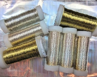 Gold wire 0.30mm for beads