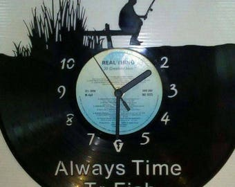 Always time to fish record clock