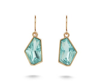 Aquamarina Drop Earrings