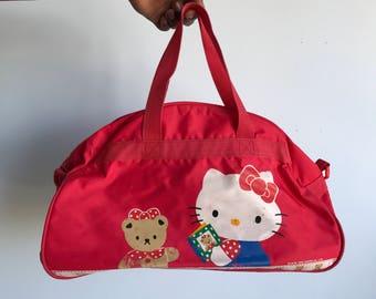 Vintage sanrio hello kitty 1976/1972 hand bag
