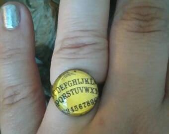 """retro ring """"ouija"""""""