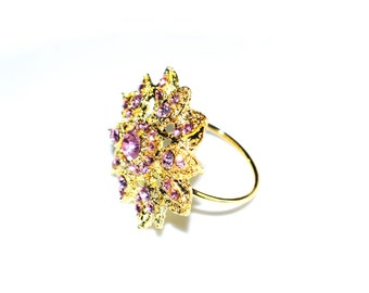 Napkins Rings Fleur