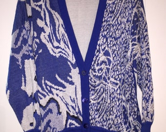 Escada By Margaretha Ley Sweater • Neiman Marcus • Made in West Germany • Cardigan • Size 38 • S/M