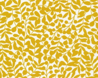 Branch Citron - First Light - Cloud9 Fabrics - Organic Cotton - Flannel by the Yard