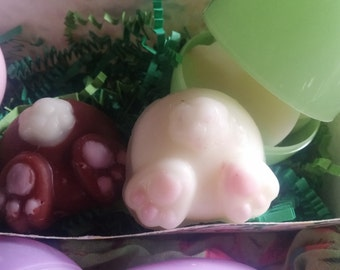 Cute Bunny Bum Easter Carrot Cake  Highly Scented Wax Melts, Tarts For Electric Wax Warmer