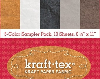 kraft tex Kraft Paper Fabric + Stash Books
