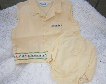 Baby Boy 70's outfit by Nannette