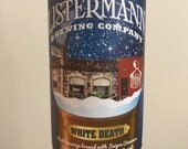 Listermann Brewing Co.- White Death (Repurposed - Craft Beer Candles)