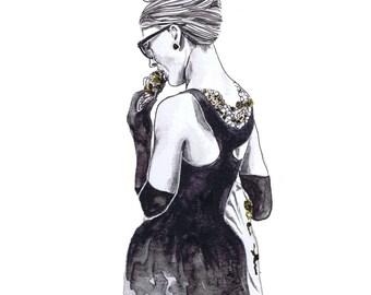 Tiffany's - A4 Size Print