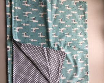 Little Lama Baby Flannel Blanket