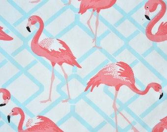 Flamingo Canvas Fabric, Flamingo Fabric, fabric by the yard
