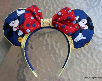 Classic Mickey Mouse Ear Headband