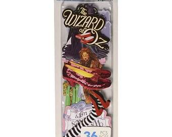 Paper House Self-Adhesive Die-Cuts 36/Pkg Wizard Of Oz