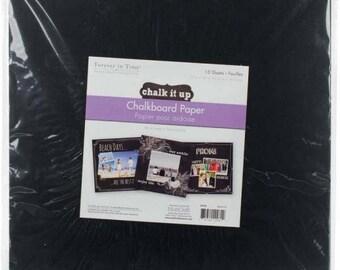"""MultiCraft Chalkboard Sheet 12""""X12"""""""