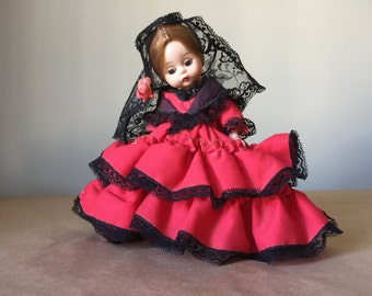 Madame Alexander Dolls of the World Spain Spanish Lady with Blond Hair