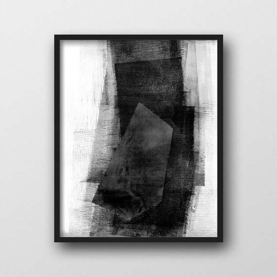 Abstract art print best selling item giclee print black for Sell abstract art online