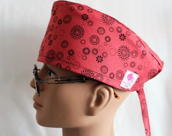 Scrub Hat with adjustable ties