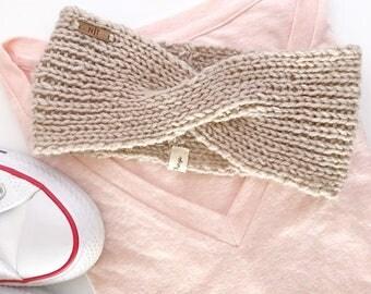 knit headband / ear warmer / headband /