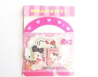 Hello Kitty Sticker Flakes (Pink)