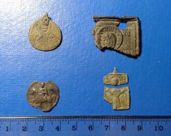 Ancient Bronze Icons 9 -15 centuries.