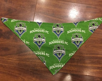 Seattle Sounders baby dribble bib bandana