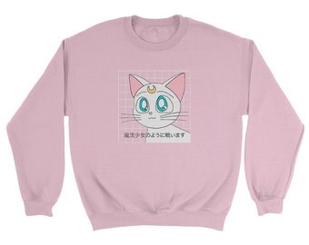 Kawaii Anime Cat Sweatshirt