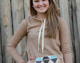 Sequined Hoodie Shirt - Fall Transition - Get It Monogrammed