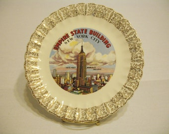 Empire State Building - New York City Souvenir Plate