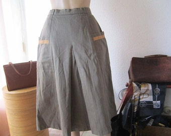 Vintage 60s high waist skirt rock Heinzelmann XS / S