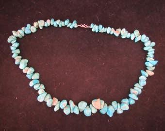 Wonderful Native Style Turquois Necklace Wonderful Native Style Necklace (E722)