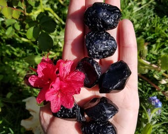 Tektite Meteorite - 1 Medium - Cosmic Connector, Expands Consciousness, Stone of Manifestation, Possibilities and Synchronicities.