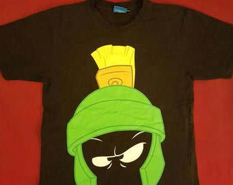 Vintage Marvin the Martian Looney Tunes tee 90s Small