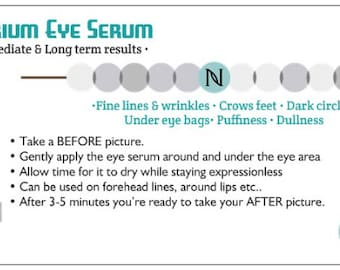 Nerium Eye Serum Sample Card with Envelope
