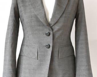 90s Next Office Women Blazer UK size 6, Ladies Smart Blazer UK Size 6, Women Smart Blazer, Small Size Formal Blazer, Petite Grey Blazer