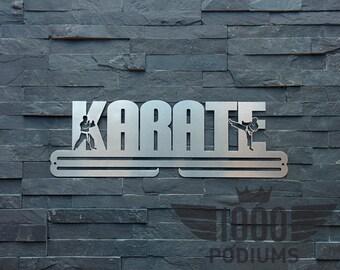 Medal Rack - Karate