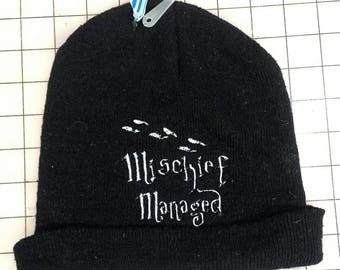 Mischief Managed Harry Potter Beanie
